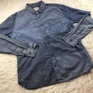 Levi's Denim Button Up Cotton Shirt
